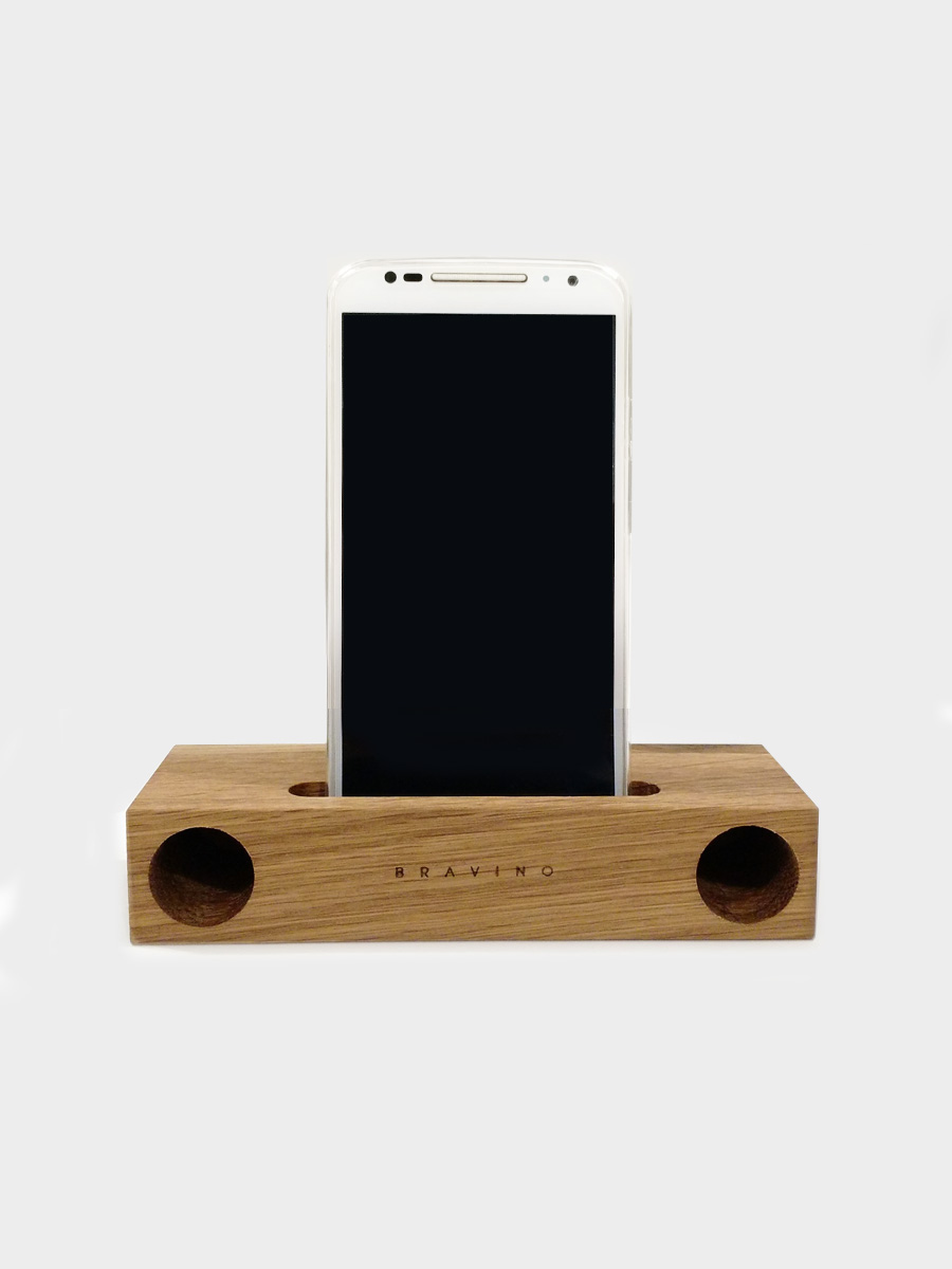 Natural Wood Acoustic Amplifier Maple
