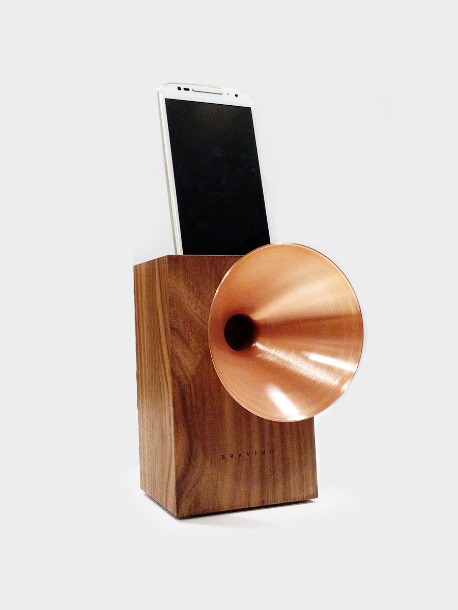 Natural Wooden Acoustic Speaker