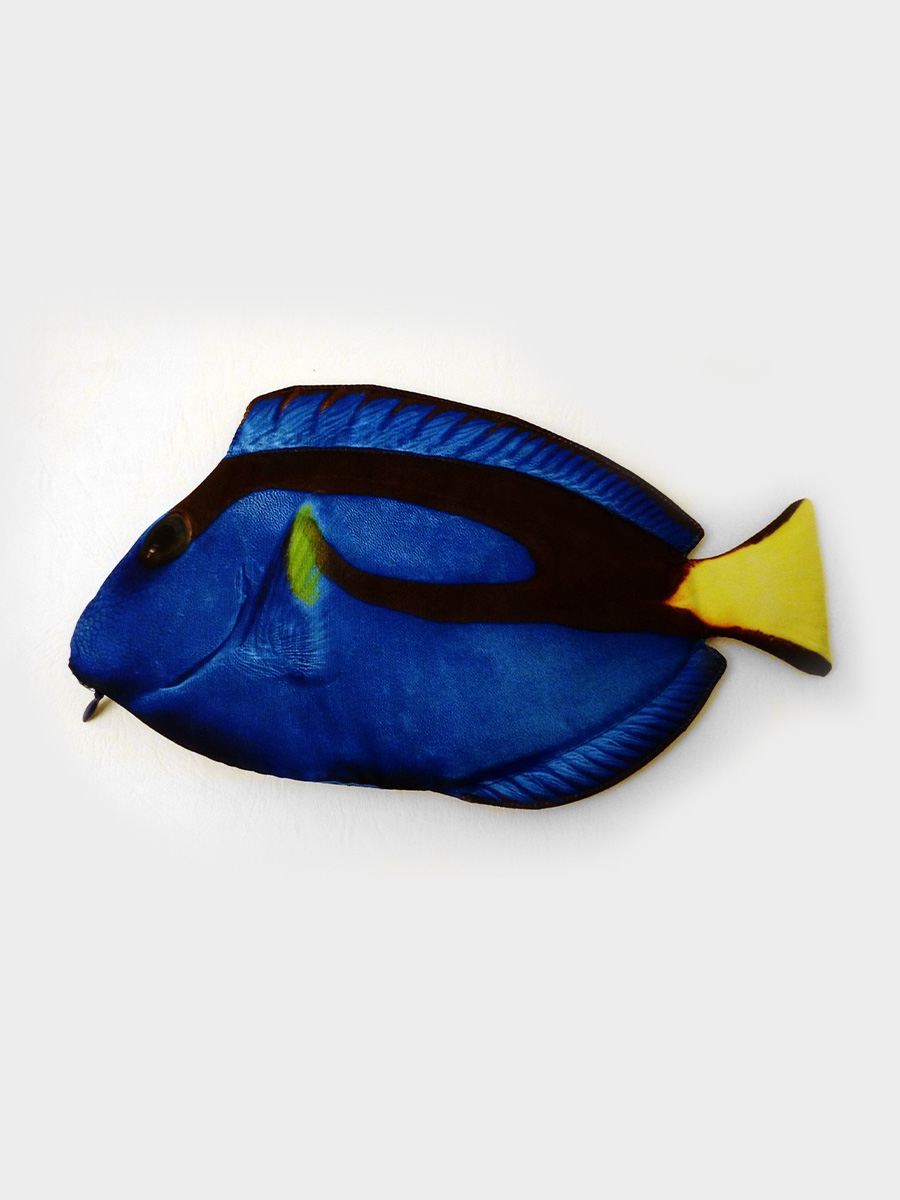 Blue Tang Fish Pencil Case