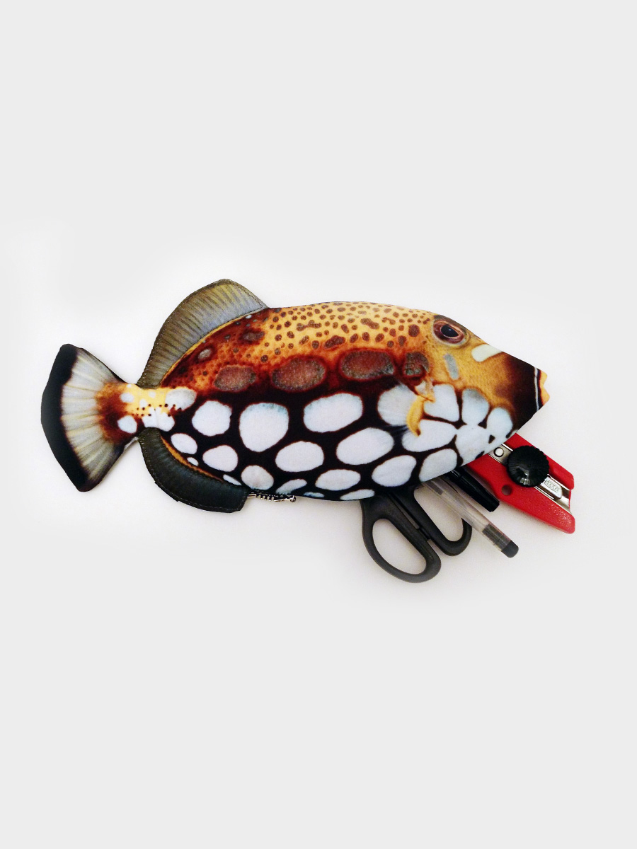 File Fish Pencil Case