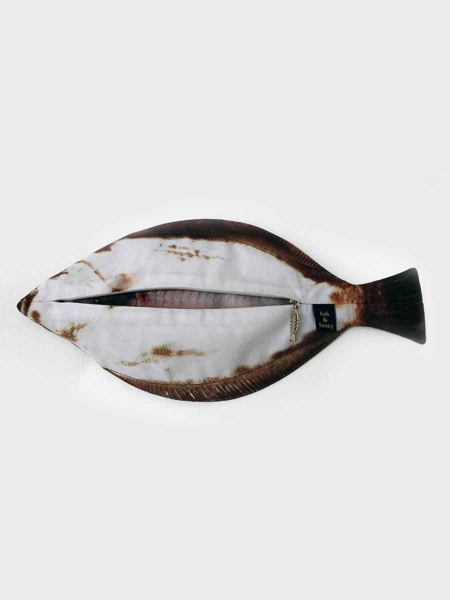 Flat Fish Pencil Case