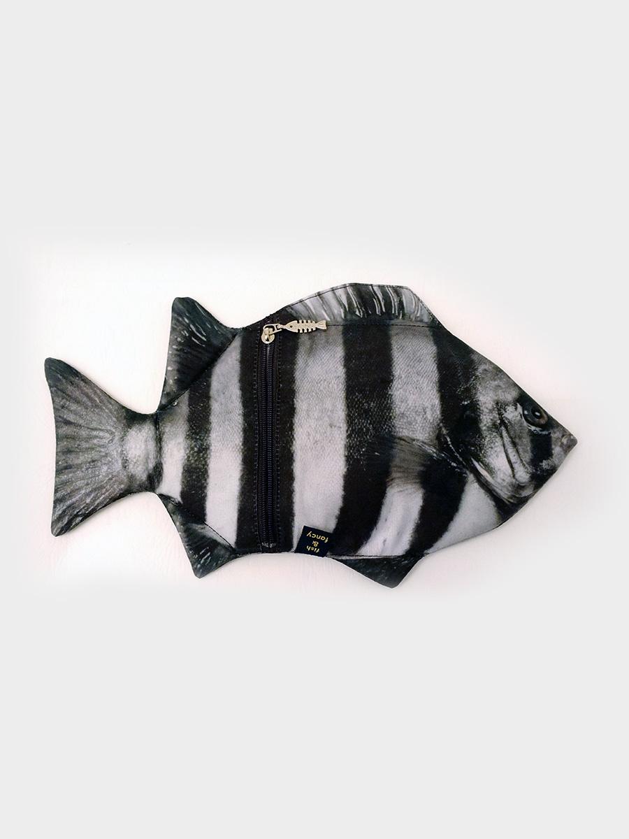 Rock Bream Fish Pencil Case