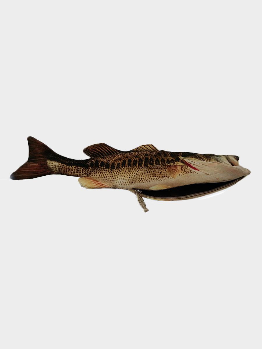 Bass Fish Pencil Case