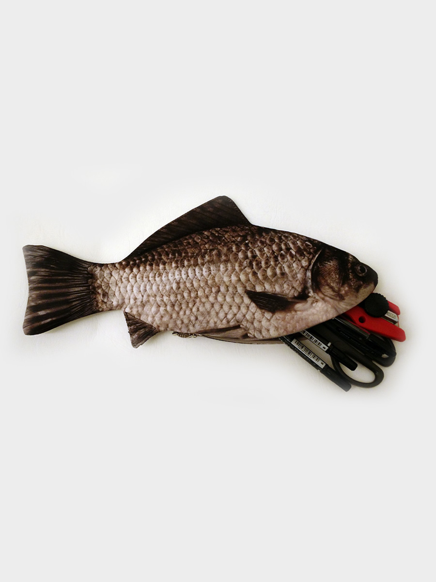 Carp Fish Pencil Case