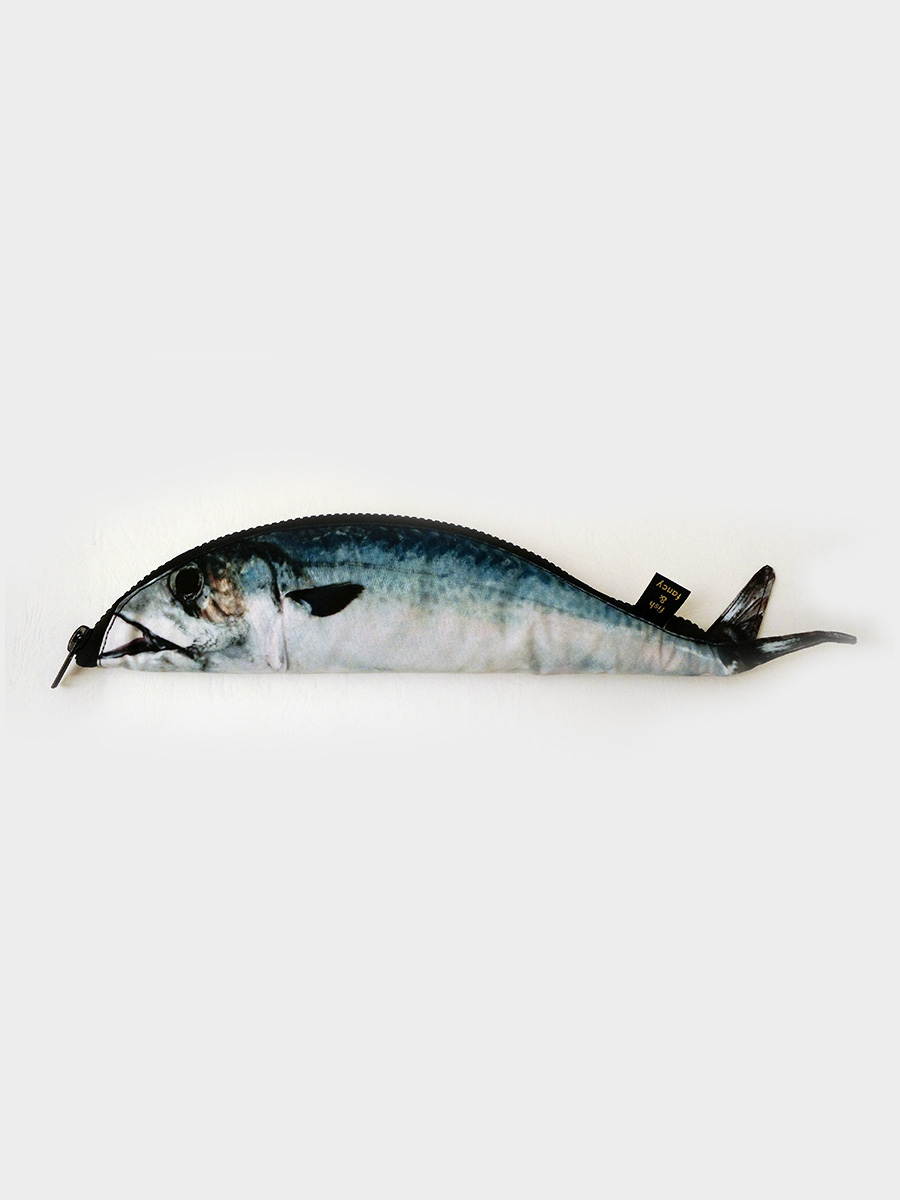 Mackerel Fish Pencil Case