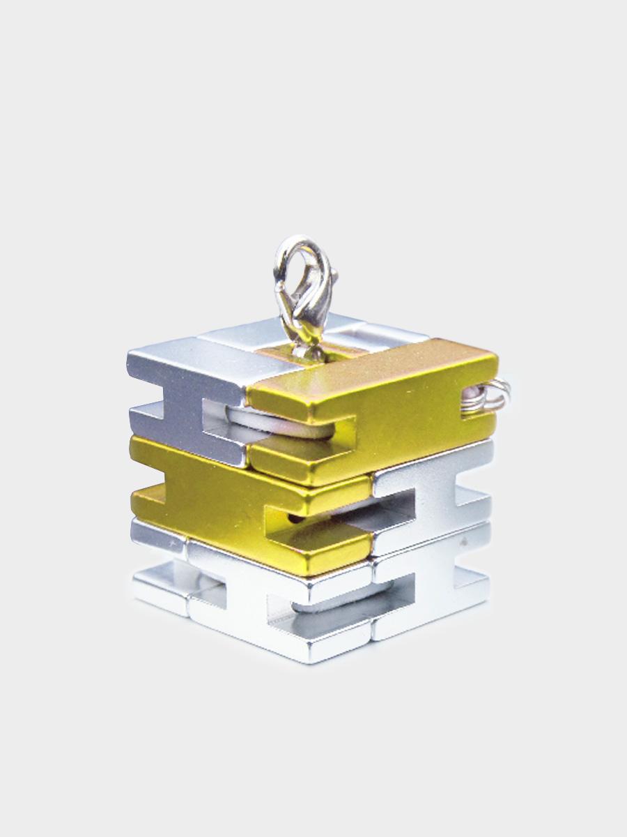 Mini Line Cube Gold