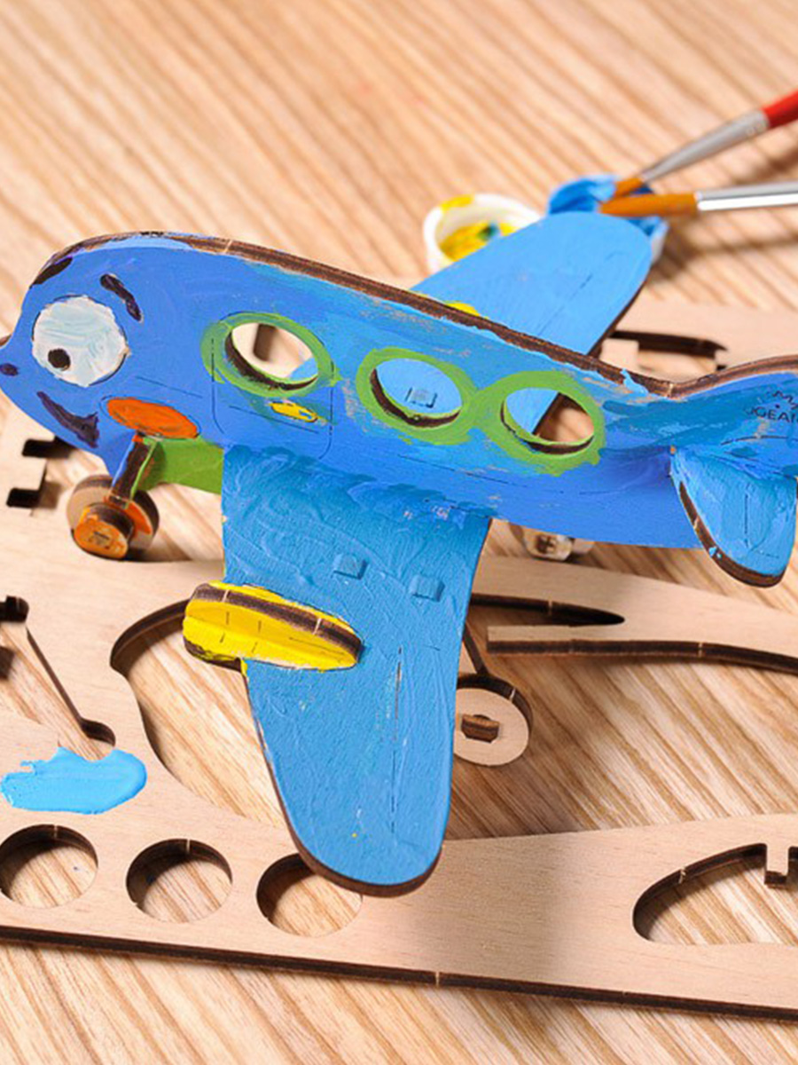 3D Puzzle Airplane