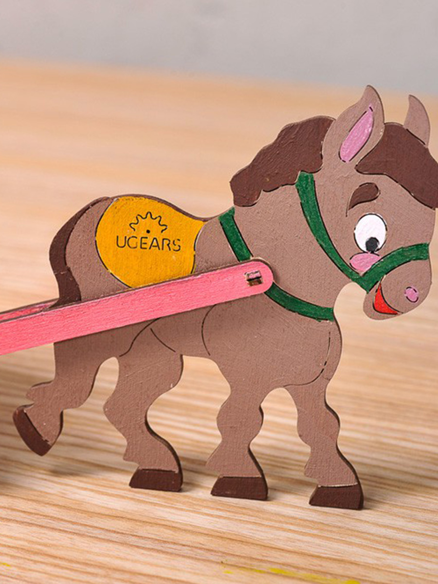 3D Puzzle Donkey