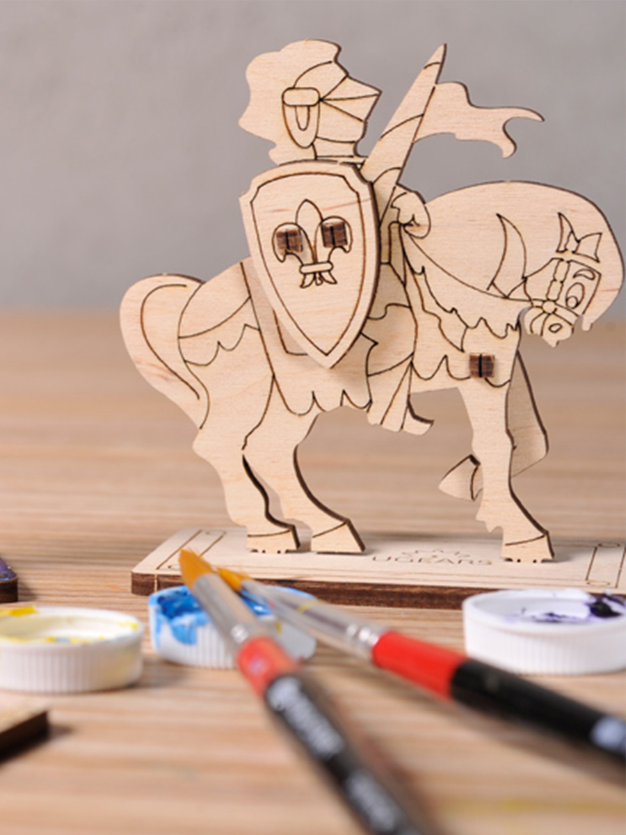 3D Puzzle Knight