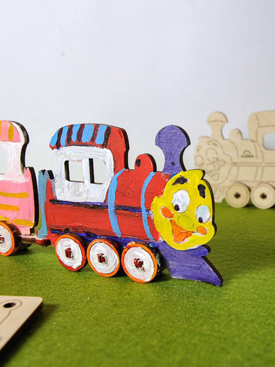 3D Puzzle Locomotive