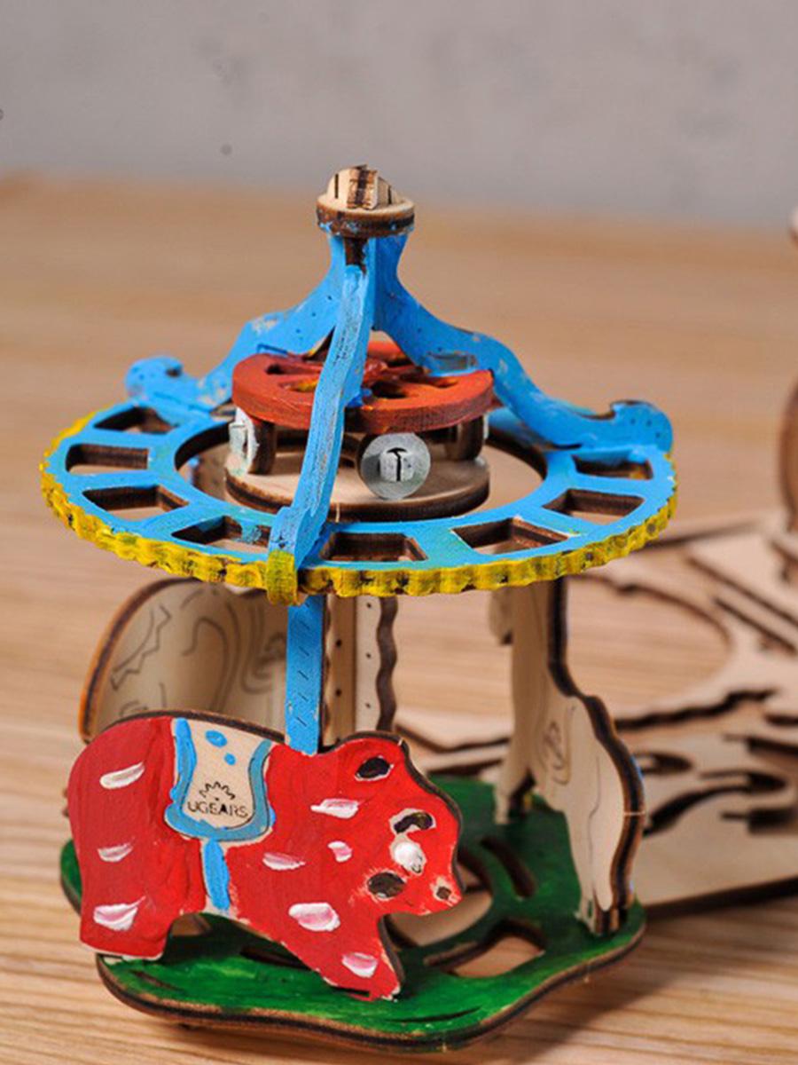 3D Puzzle Merry-go-round