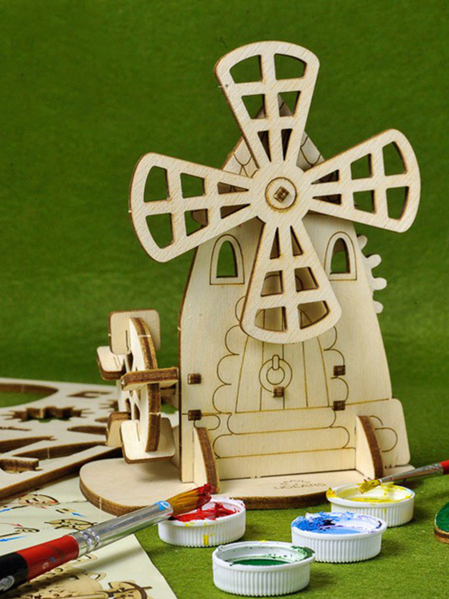 3D Puzzle Mill