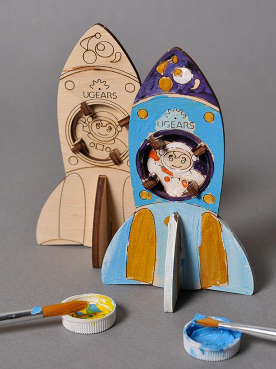 3D Puzzle Rocket