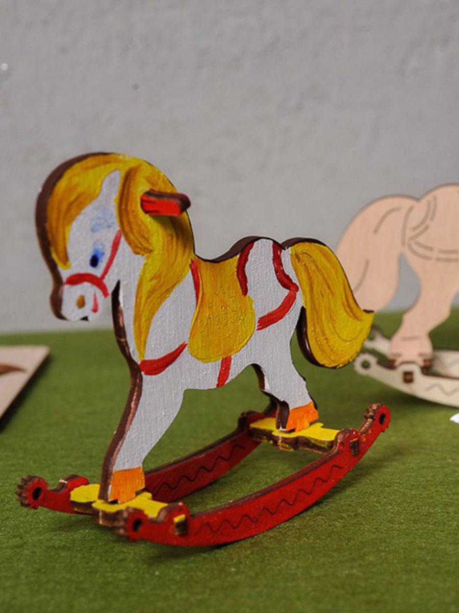 3D Puzzle Rocking Horse