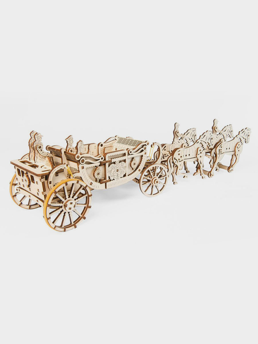 3D Puzzle Royal Carriage