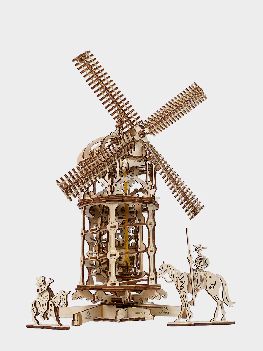 3D Puzzle Tower Windmill