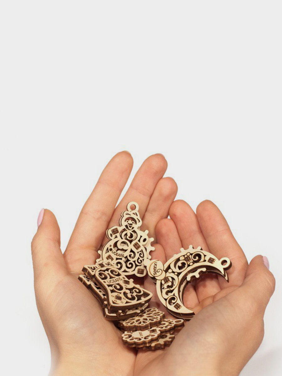 3D Puzzle U-Fidget Gearsmas