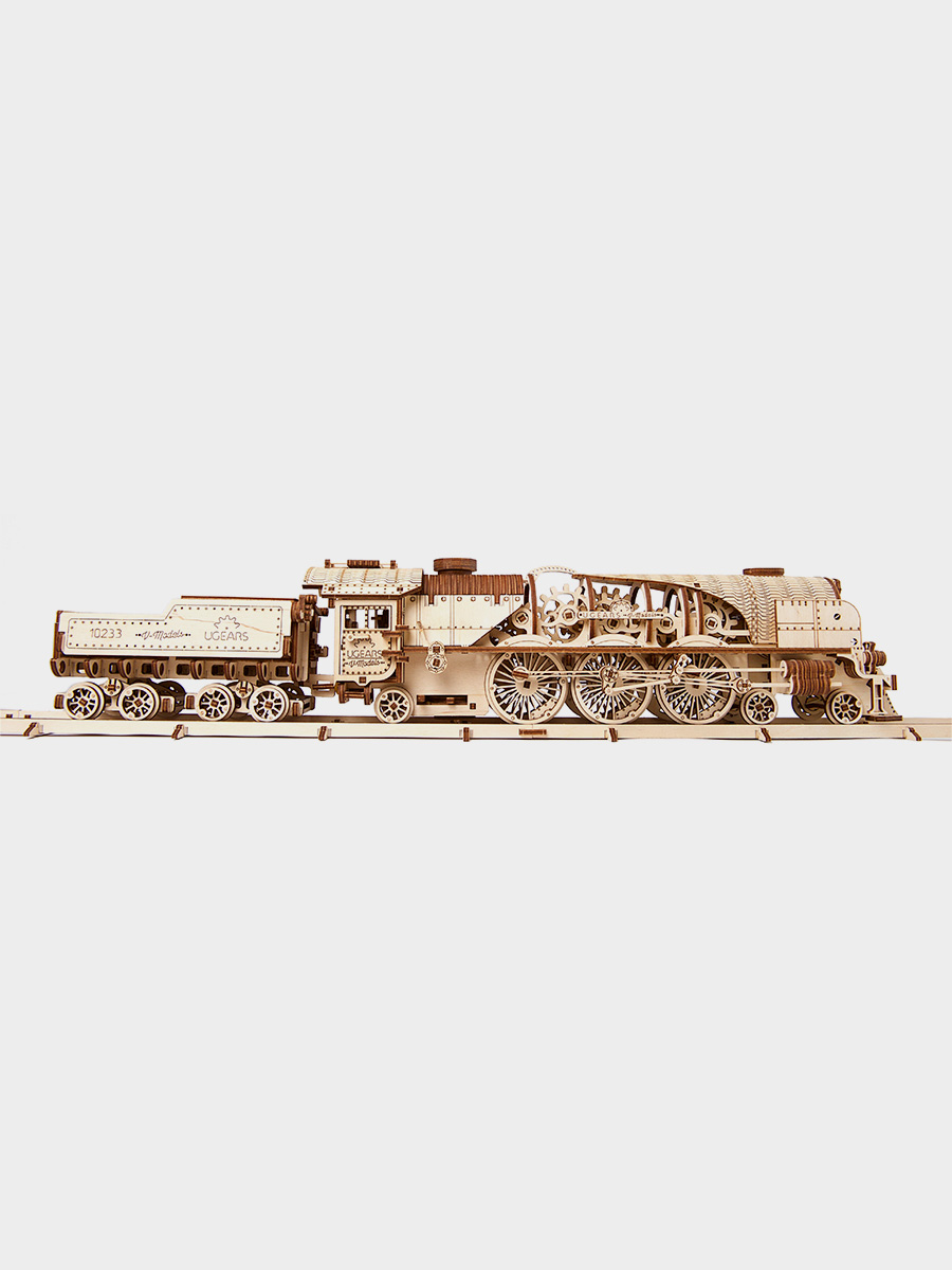 3D Puzzle V-Express Steam Train with Tender