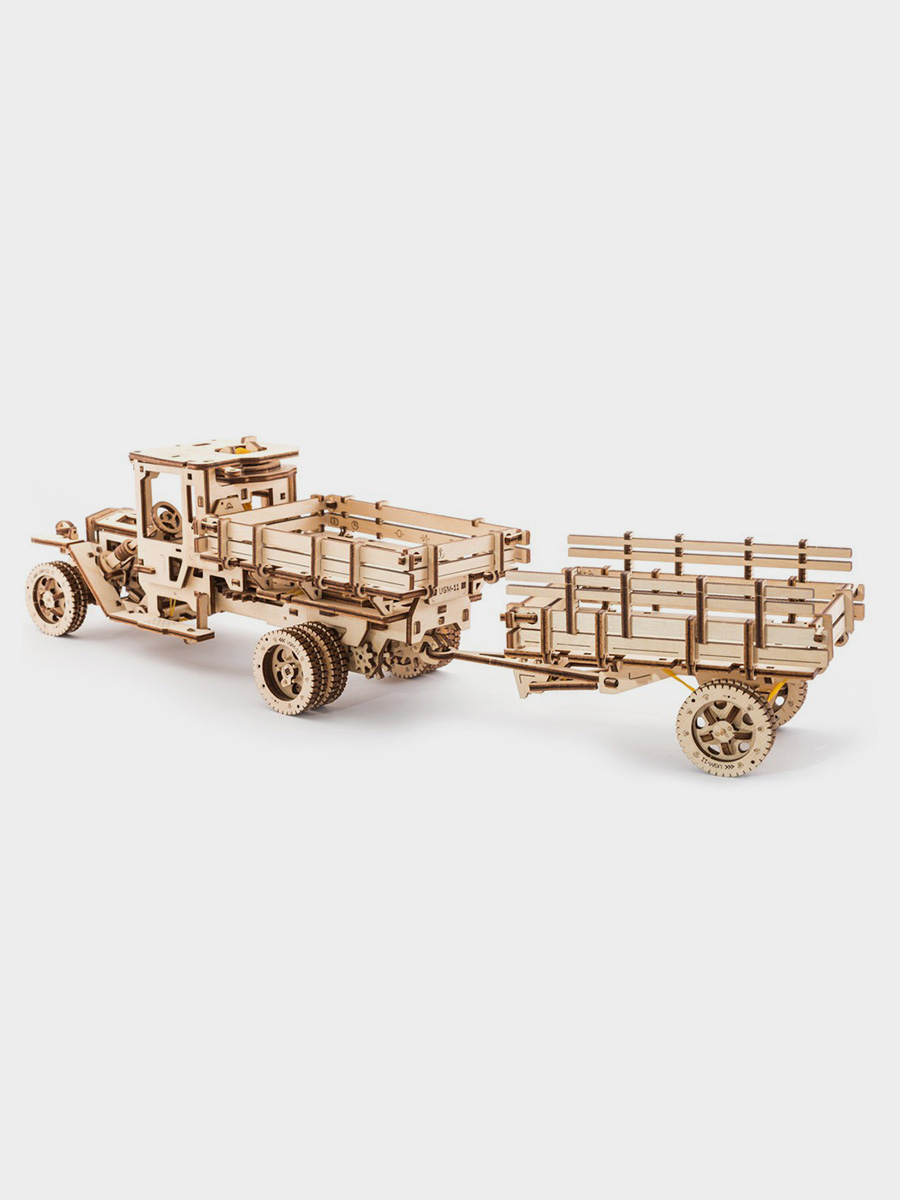 3D Puzzle Additions for the Truck UGM-11