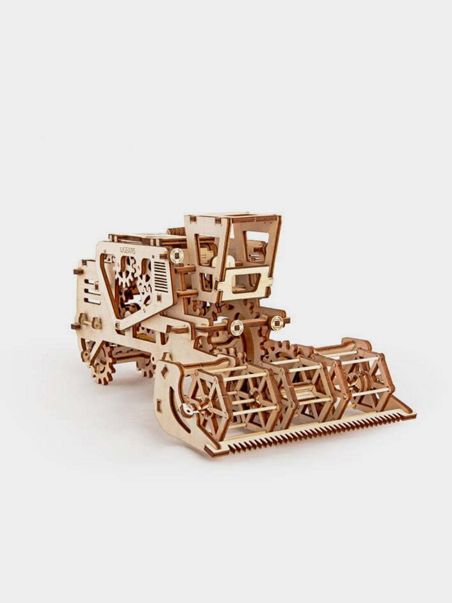 3D Puzzle Combine Harvester