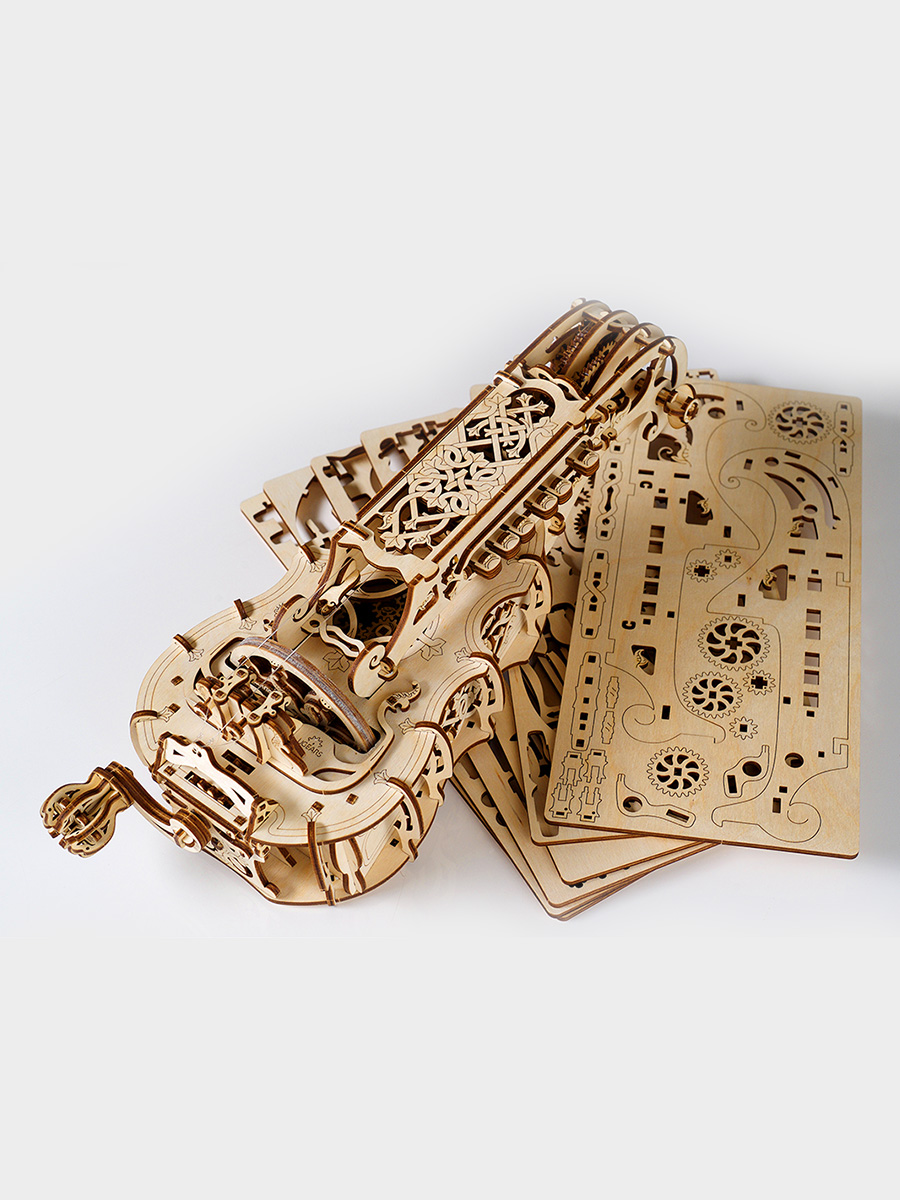 3D Puzzle Hurdy-Gurdy