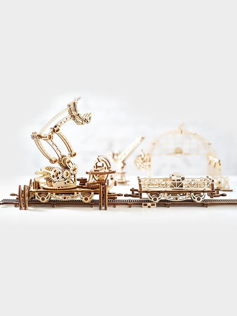 3D Puzzle Rail Manipulator