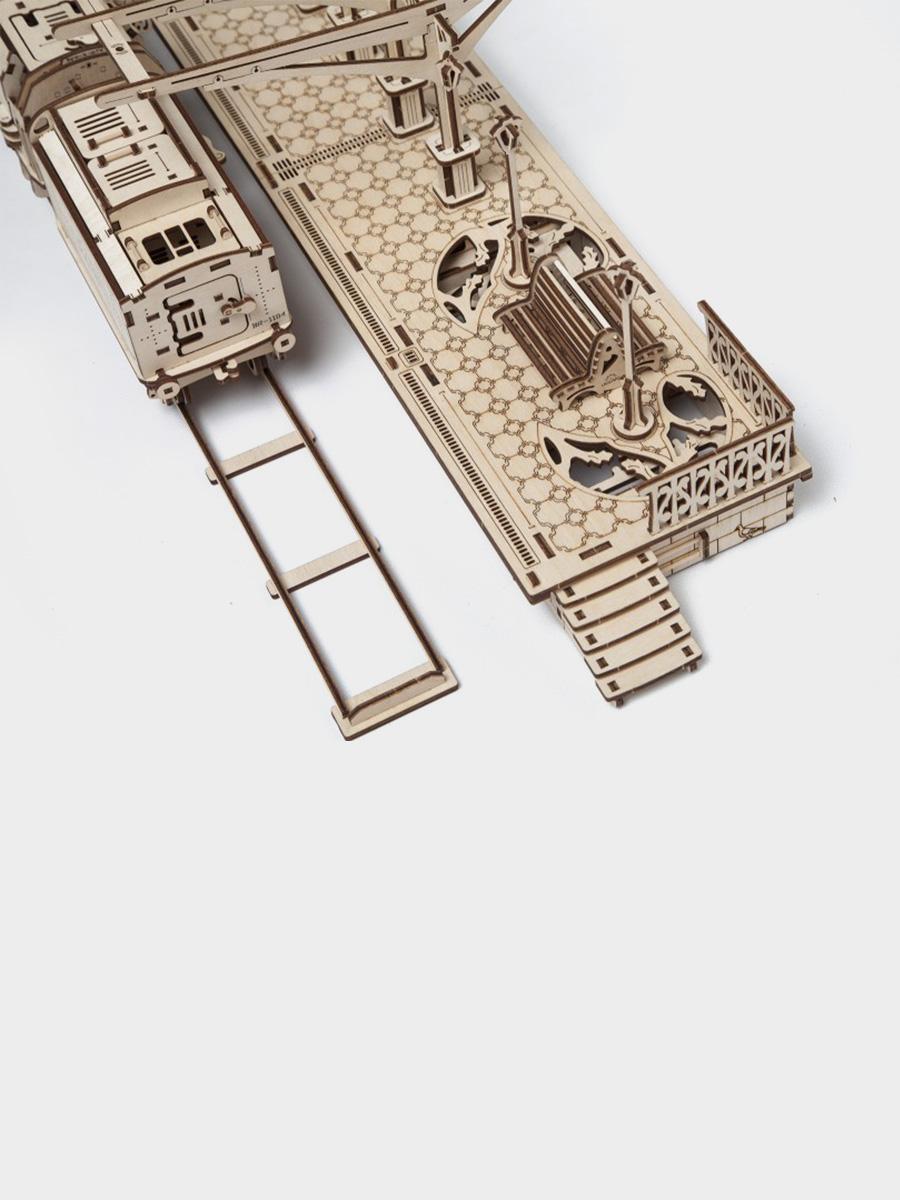 3D Puzzle Railway Platform