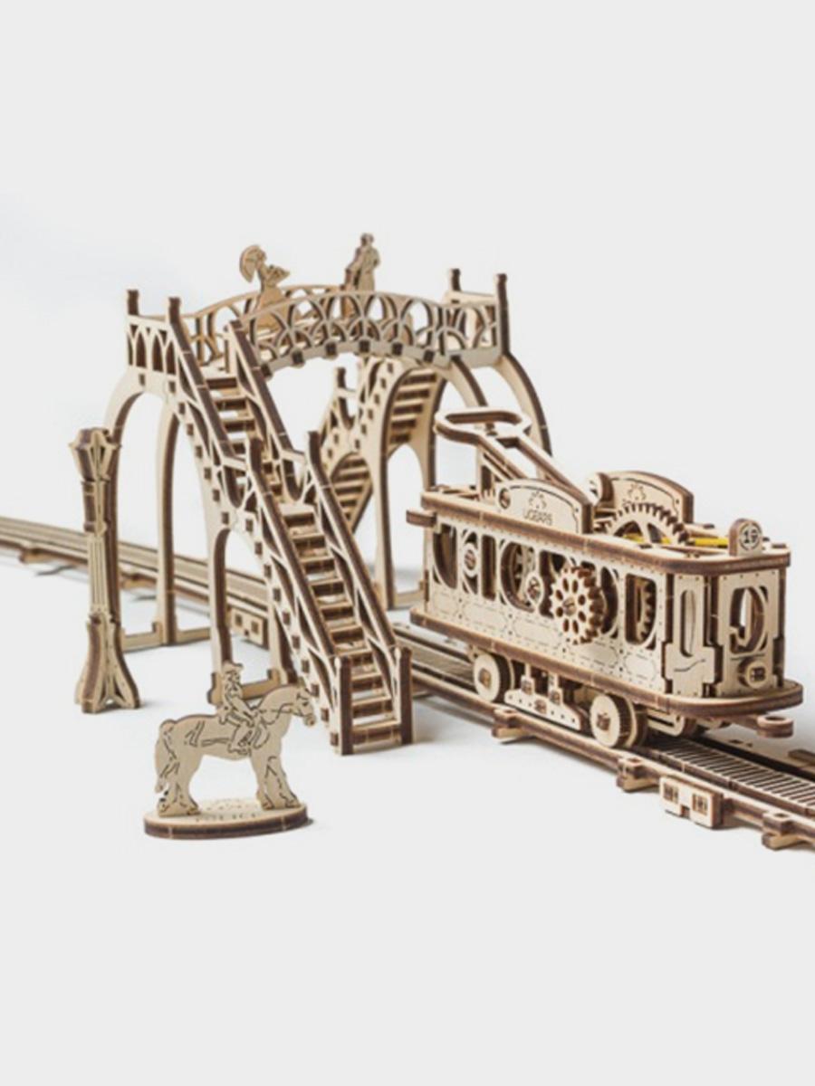 3D Puzzle Tram Line