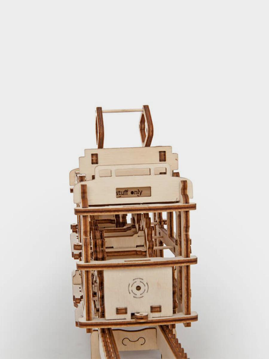 3D Puzzle Tram