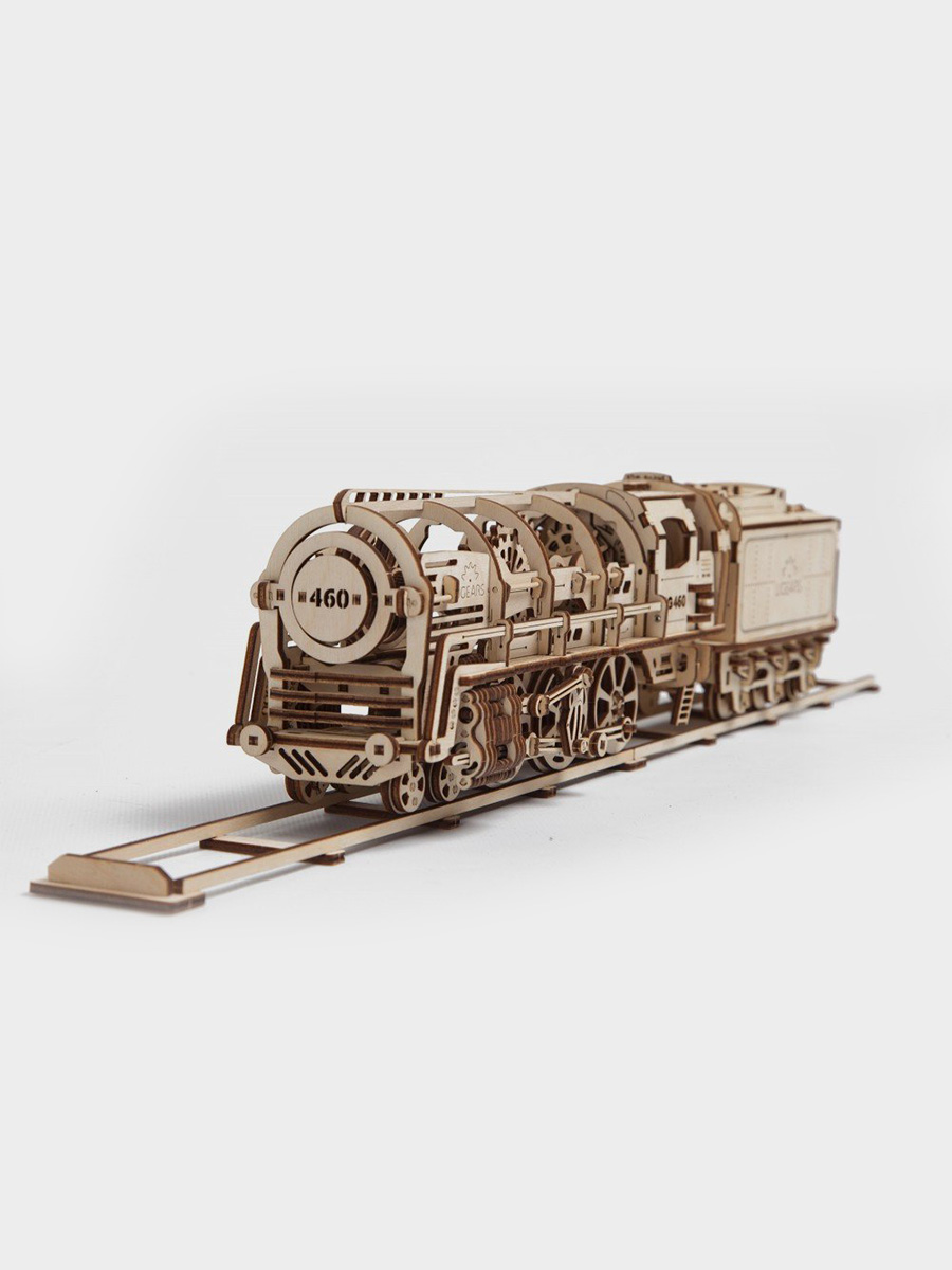 3D Puzzle Steam Locomotive