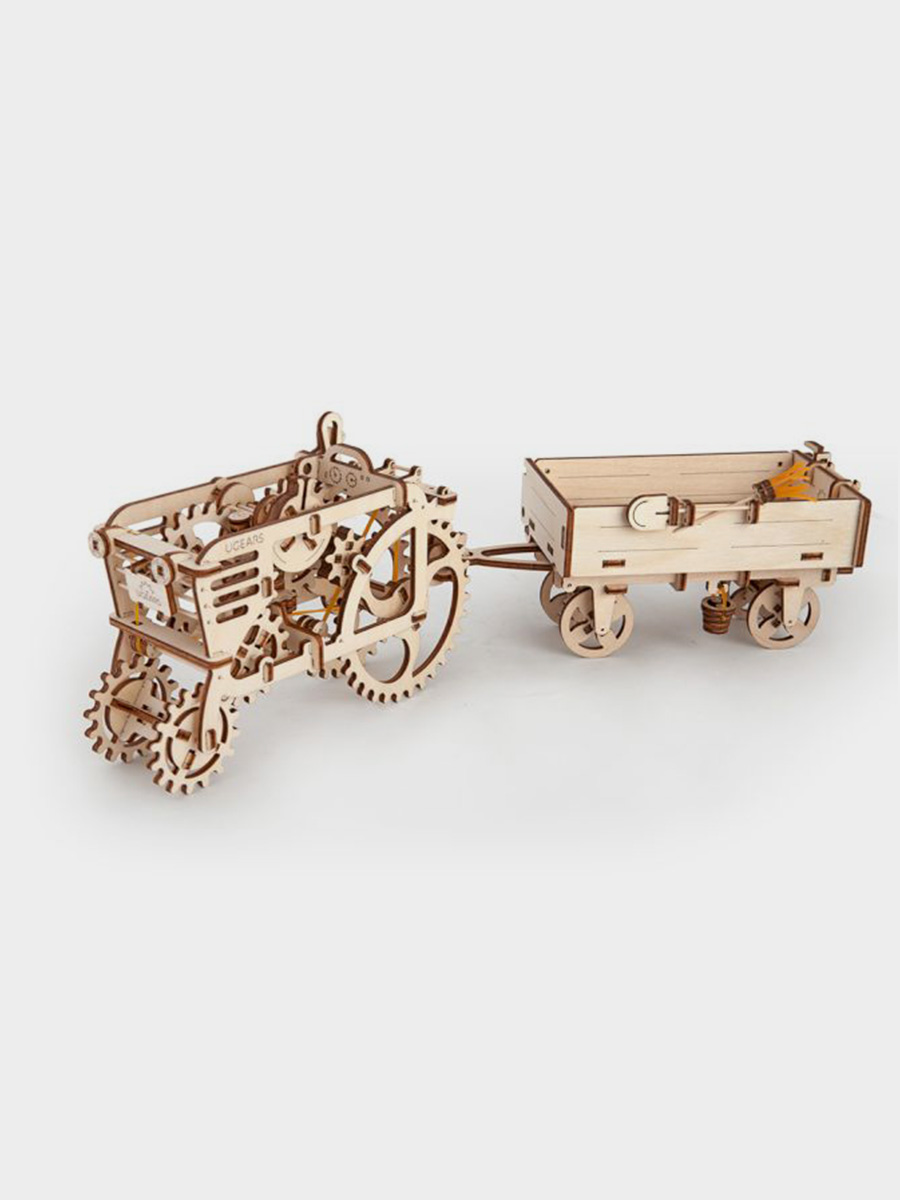 3D Puzzle Tractor