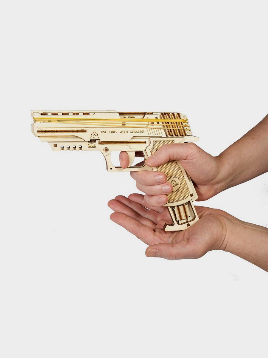 3D Puzzle Wolf-01-Handgun